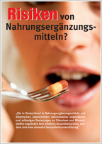 Risiken von Nahrungsergänzungsmitteln?