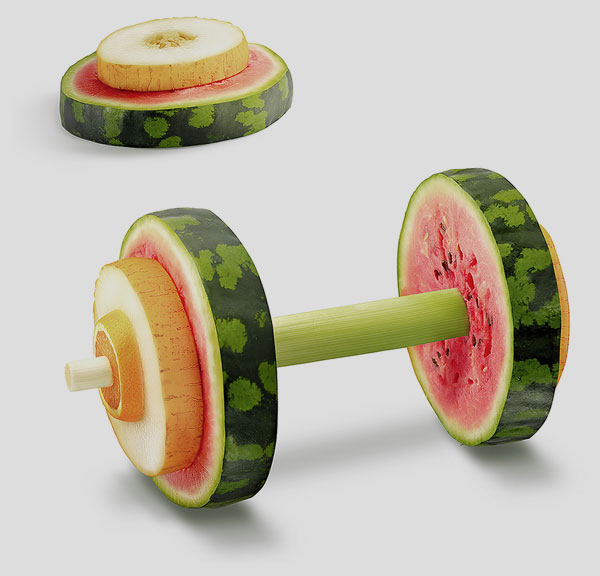 Sport Wassermelone